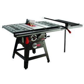 """1-3/4HP 1PH 110-120V Contractor Saw with 36"""" Pro T-Glide Fence System"""