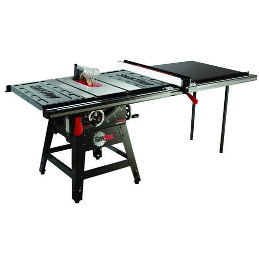 """View a Larger Image of 1-3/4HP 1PH 110-120V Contractor Saw with 52"""" Pro T-Glide Fence System"""