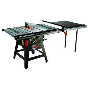 """1-3/4HP 1PH 110-120V Contractor Saw with 52"""" Pro T-Glide Fence System"""