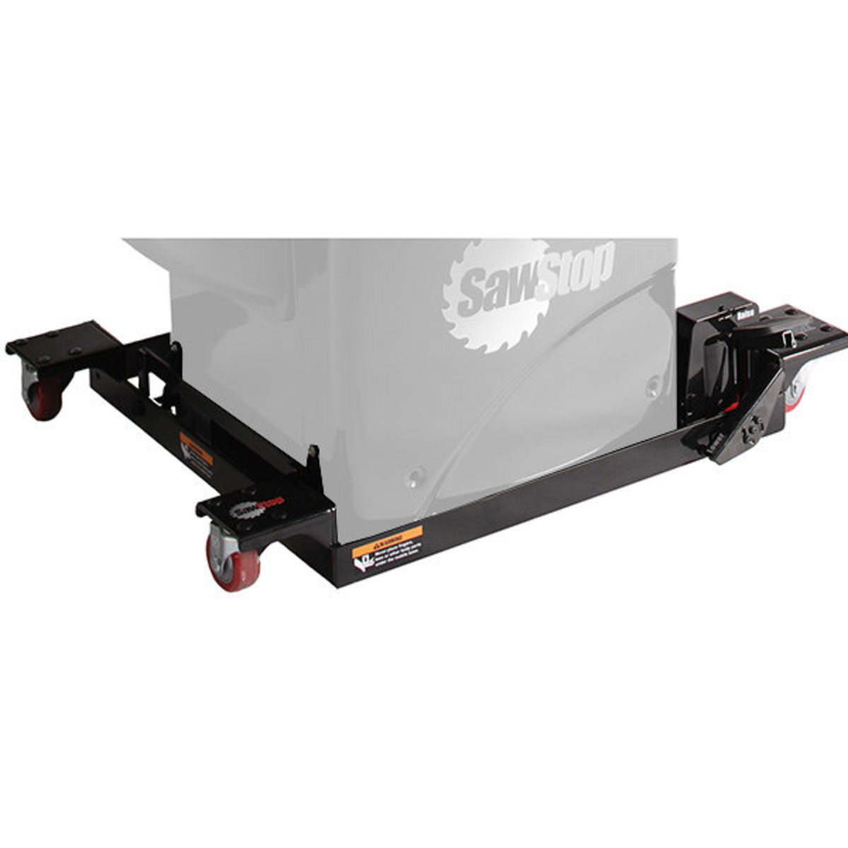 View a Larger Image of Industrial Cabinet Saw Mobile Base with PCS Conversion Kit