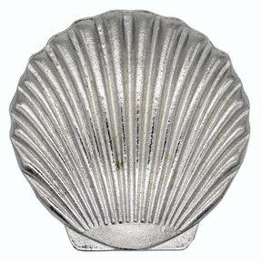 Scallop Seashell Knob, Nickel