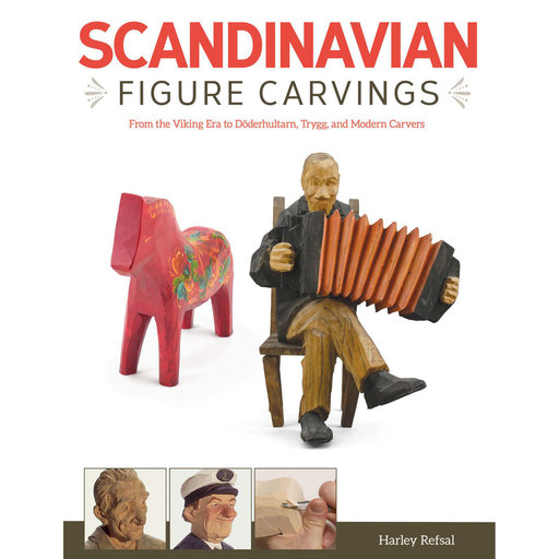 View a Larger Image of Scandinavian Figure Carving