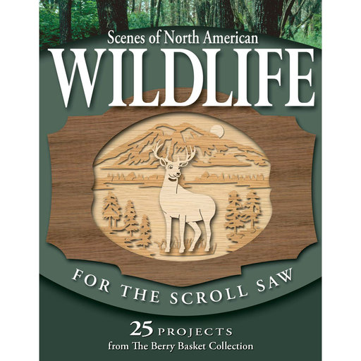View a Larger Image of Scenes of North American Wildlife for the Scroll Saw