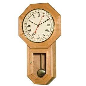 Schoolhouse Regulator Clock - Downloadable Plan