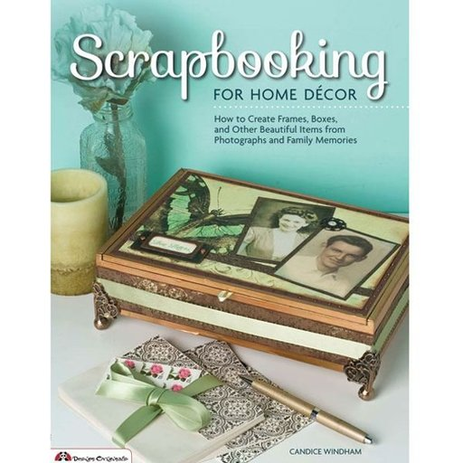 View a Larger Image of Scrapbooking for Home Decor