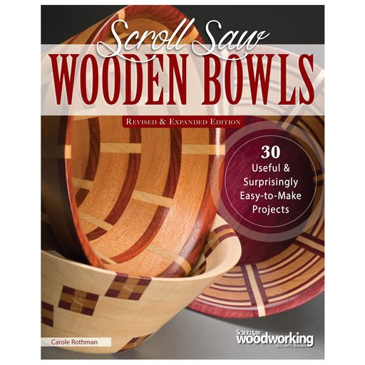 View a Larger Image of Scroll Saw Wooden Bowls R&E