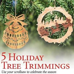 Scrollsaw Ornaments - Downloadable Plan