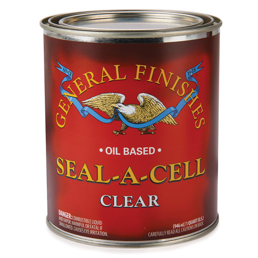 View a Larger Image of Satin Seal-A-Cell Varnish Solvent Based Quart