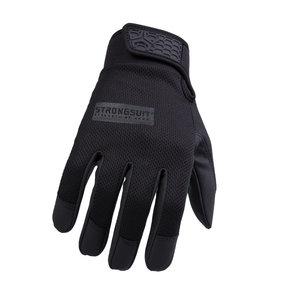 Second Skin Gloves, Black, Medium