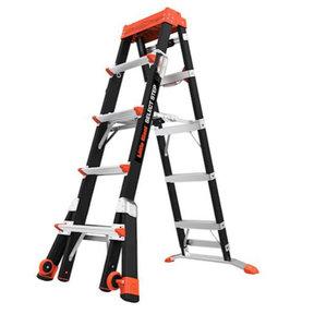 Select Step 5'-8' Adjustable Stepladder