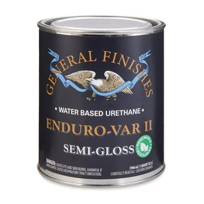 Semi-Gloss Enduro Var II Varnish Water-Based Quart