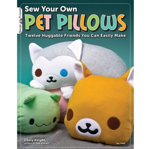 View a Larger Image of Sew Your Own Pet Pillows
