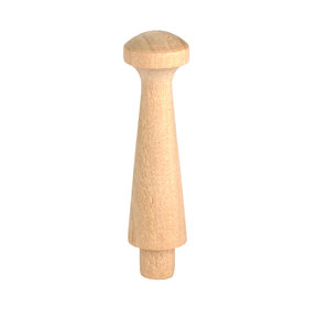 "Shaker Peg, Birch, 1-3/4"", Tenon Dia. 1/4"" 4-piece"