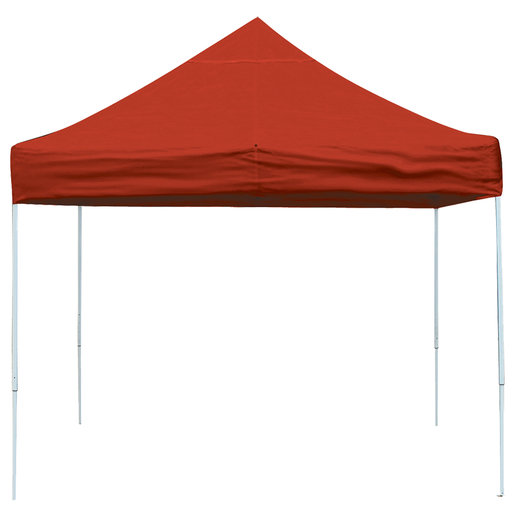 View a Larger Image of 10 ft. x 10 ft. Pro Pop-up Canopy Straight Leg, Red Cover