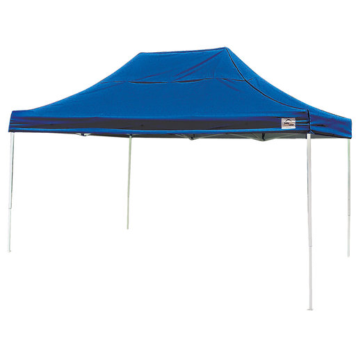 View a Larger Image of 10 ft. x 15 ft. Pro Pop-up Canopy Straight Leg, Blue Cover