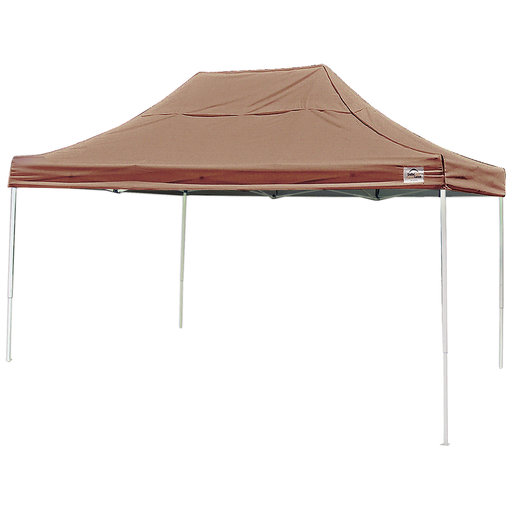 View a Larger Image of 10 ft. x 15 ft. Pro Pop-up Canopy Straight Leg, Desert Bronze Cover