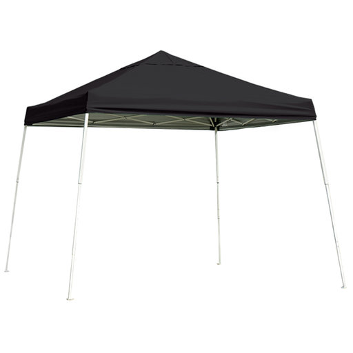 View a Larger Image of 12 ft. x 12 ft. Sport Pop-up Canopy Slant Leg, Black Cover