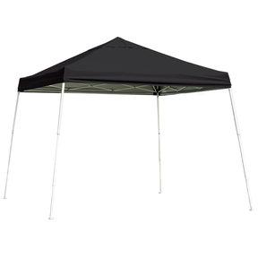 12 ft. x 12 ft. Sport Pop-up Canopy Slant Leg, Black Cover