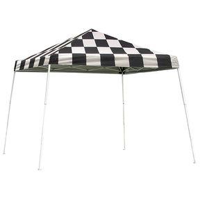 12 ft. x 12 ft. Sport Pop-up Canopy Slant Leg,Checker Flag Cover