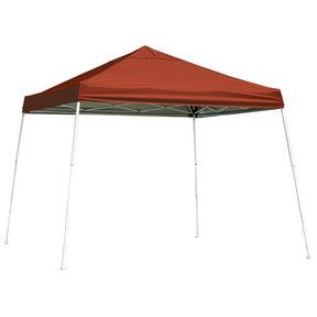 12 ft. x 12 ft. Sport Pop-up Canopy Slant Leg, Red Cover