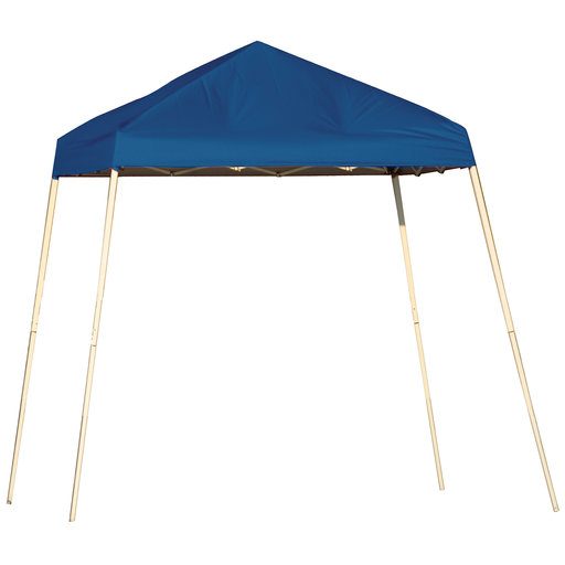 View a Larger Image of 8 ft. x 8 ft. Sport Pop-up Canopy Slant Leg, Blue Cover