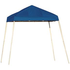 8 ft. x 8 ft. Sport Pop-up Canopy Slant Leg, Blue Cover
