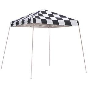 8 ft. x 8 ft. Sport Pop-up Canopy Slant Leg, Checker Flag Cover