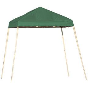 8 ft. x 8 ft. Sport Pop-up Canopy Slant Leg, Green Cover