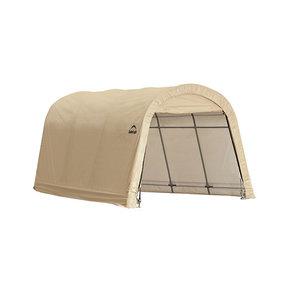 Auto Shelter 10' x 15' x 8' RoundTop Instant Garage, Sandstone