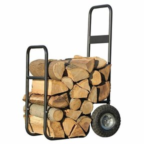 Haul-It Wood Mover Rolling Firewood Cart