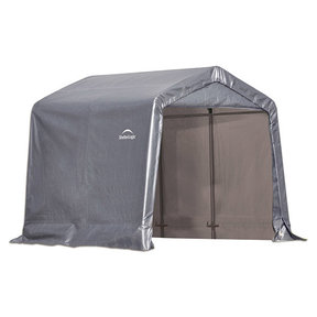 Shed-in-a-Box 8' x 8' x 8', Peak Style, Gray