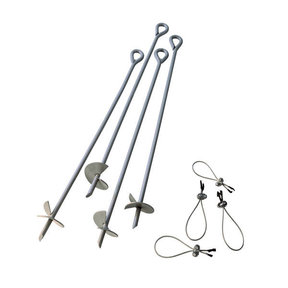 ShelterAuger Earth Anchors 30 in. - 4 Piece Set