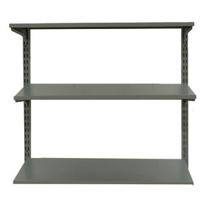"""33"""" Wall Mount Unit with 3 Steel Shelves"""