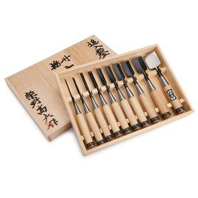 Shibano Umeki Chisel 10pc Set