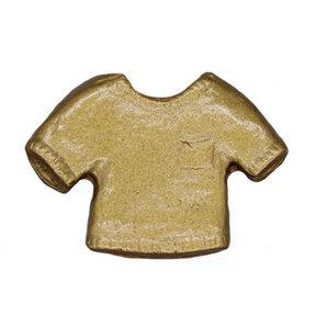 Shirt Knob, Lux Gold