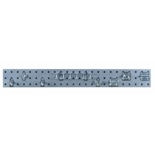 View a Larger Image of Silver Tool Pegboard Kit