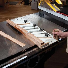 Sled Style Tapering Jig - Downloadable Plan
