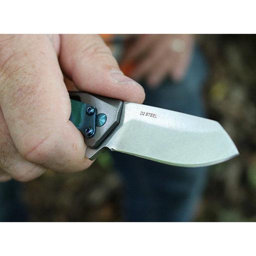 View a Larger Image of Slinger Flipper Knife - Black