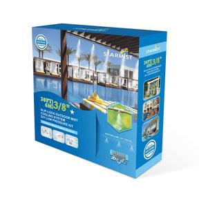 """Slip Lock Mist Cooling Kit, 20 ft., 3/8"""", #483006"""