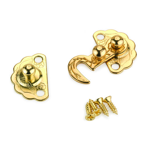 View a Larger Image of Small Box Hook Latch 30 mm x 22 mm