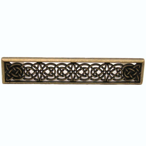 View a Larger Image of Small Celtic Style Pull,  Brass Oxide