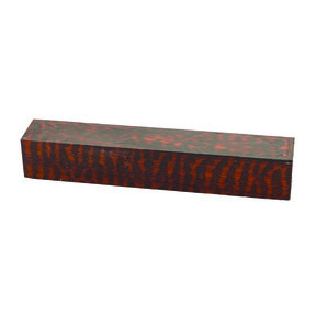 """Snakewood 1"""" x 1"""" x 6"""" Wood Turning Stock"""