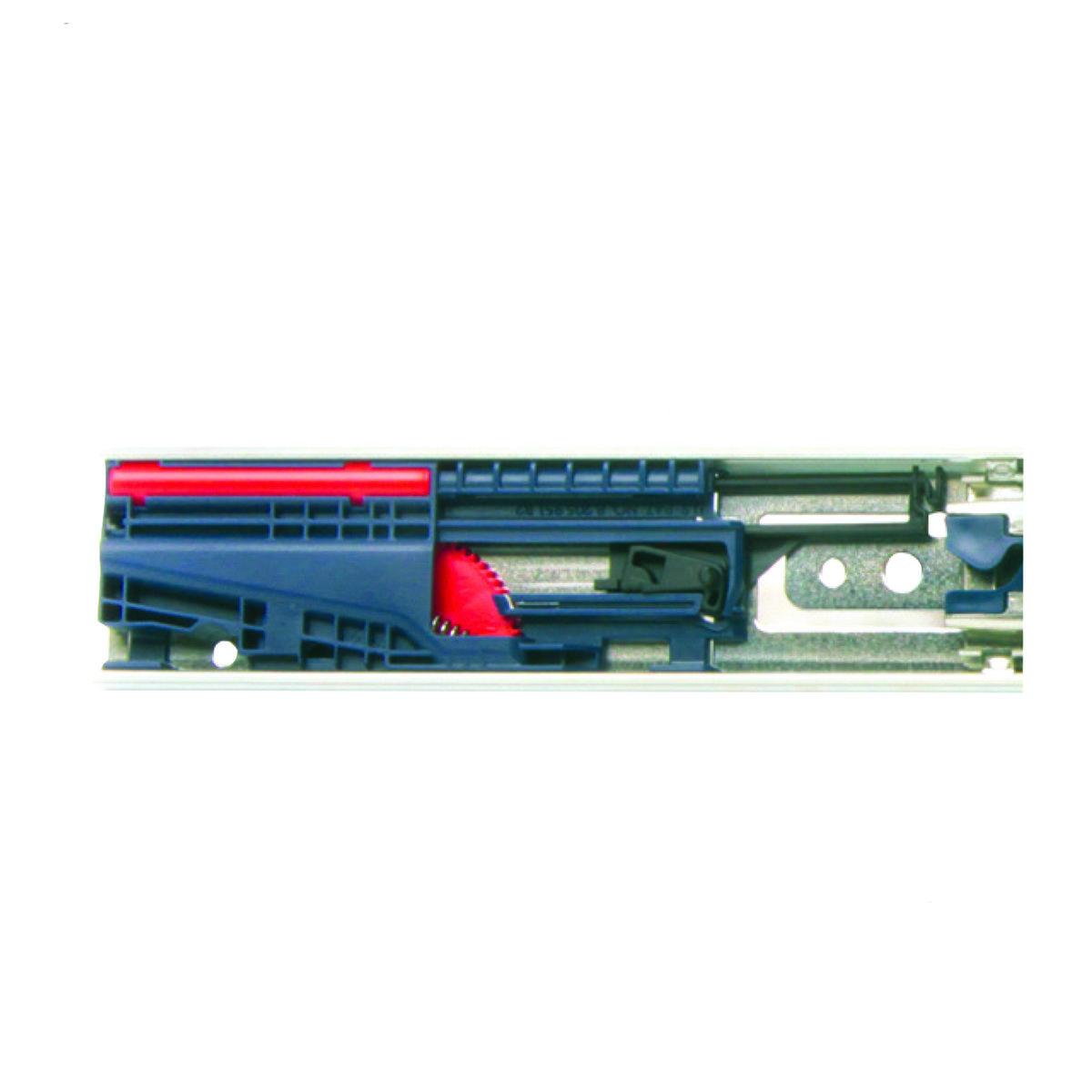 "View a Larger Image of 18"" Soft-Close Full Extension Side Mount Drawer Slide Model KV 8450FM Pair"