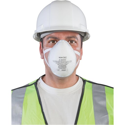 View a Larger Image of SoftSeal N95 3D+ Valved Mask (M)