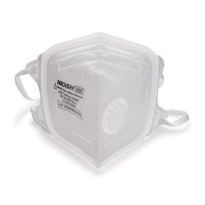 SoftSeal N95 V-Fold+ Valved Respirator - Large -3 Pack