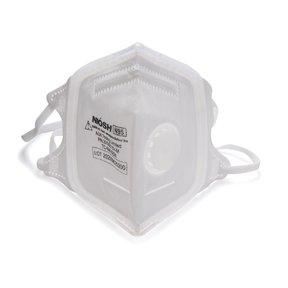 SoftSeal N95 V-Fold+ Valved Respirator - Medium - 3 Pack