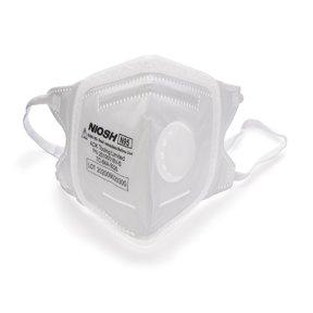 SoftSeal N95 V-Fold+ Valved Respirator - Small - 3 Pack