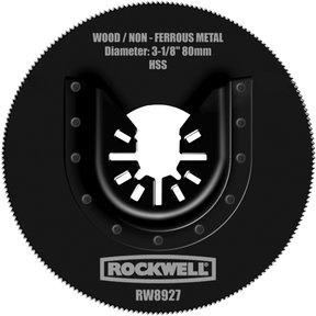 "Sonicrafter 3-1/8"" HSS Saw Blade, Model RW8927"