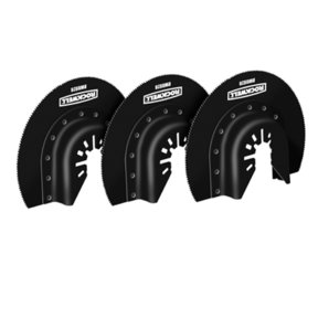 """Sonicrafter 3-1/8"""" HSS Semicircle Saw Blade, 3 Pack"""