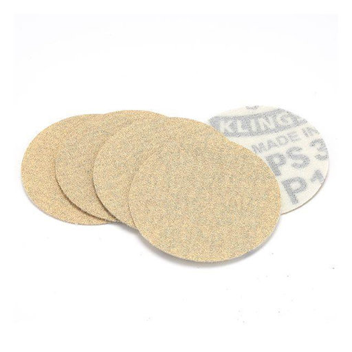 """View a Larger Image of 2"""" Hook and Loop Sanding Disc - 120 Grit - 5 Pack"""